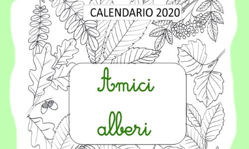 calendario degli alberi Daniela Guido